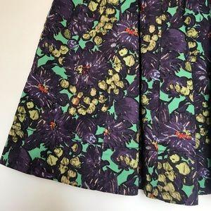 J.CREW print skirt